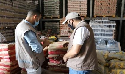 مباحث التموين تُحرر 175 محضر ضبط واتلاف لتجار مخالفين