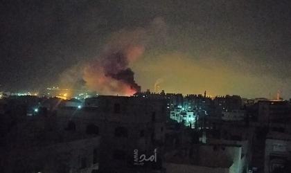 طائرات الاحتلال ومدفعيته تقصف أهدافًا في قطاع غزة
