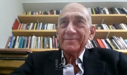 أولمرت: نتنياهو لم يرغب قط في تقديم حل وسط مع الفلسطينين..وهناك فرصة لإحراز تقدم