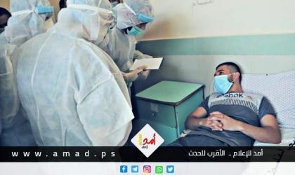"""صحة حماس: تسجيل 1764 إصابة جديدة بفيروس """"كورونا"""" في قطاع غزة"""