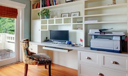 7 نصائح لعمل مكتب هادئ داخل المنزل