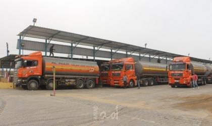"""غزة.. تحذير من """"نتائج كارثية"""" لعدم ترخيص شاحنات ومحطات الغاز والبترول"""