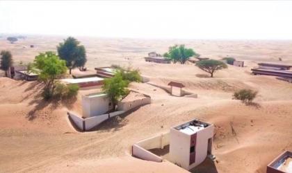 وادي المر: قرية تدفنها رمال الصحراء وتعود من جديد .. تعرف عليها