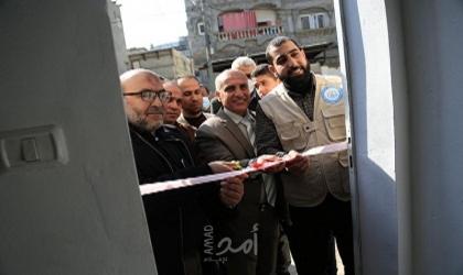 بلدية البريج تفتتح بئر مياه جديد بمنطقة بلوك 12