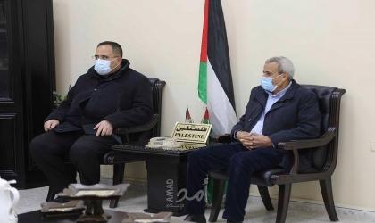 قلقيلية : صيدم ورواجبة في زيارة تضامنية لبلدة كفر قدوم