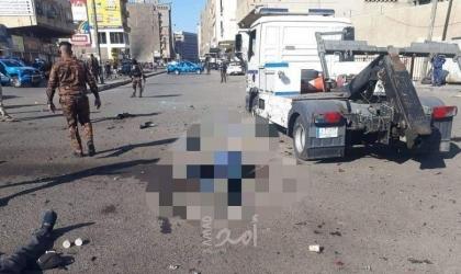 بغداد: قتيل و4 جرحى في انفجار دراجة نارية مفخخة في منطقة المشتل