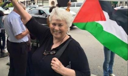 """وفاة الناشطة الأميركية المدافعة عن حقوق الشعب الفلسطيني """"ماري ثومبسون"""""""