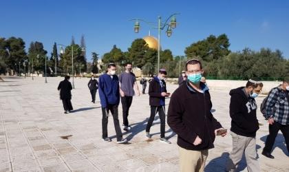 """القدس: (134) مستوطناً وعنصراً من مخابرات الاحتلال يقتحمون """"المسجد الأقصى"""""""