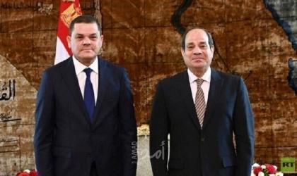 بعد استقباله الدبيبة..السيسي يغرد: تشاورنا سويًا حول أهم القضايا المشتركة بين مصر وليبيا