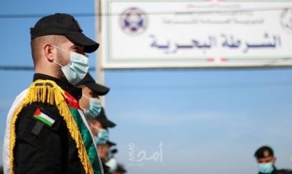 """شرطة حماس البحرية بمحافظة غزة تُنجز قضية سرقة بقيمة """"4"""" آلاف شيكل"""