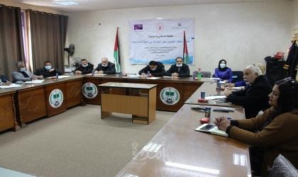 """الضمير تنظم لقاء بعنوان """" حث وتمكين الشباب على المشاركة السياسية"""" للأكاديميين والعاملين في جامعة الأزهر"""
