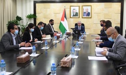 اشتية يترأس اجتماعًا لمشروع توفير الغاز لقطاع غزة بحضور أوروبي وقطري
