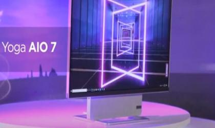 شركة Lenovo تطرح حاسبا متطورا بشاشة دوارة.. فيديو