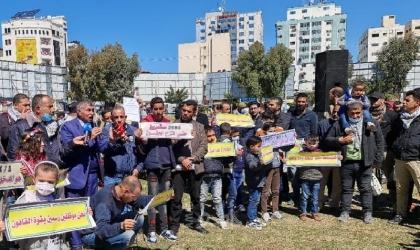 """مجموعة من المتقاعدين العسكريين يوجهون دعوة لـ""""الرجوب"""" بالإعتصام عقب إحالته للتقاعد"""