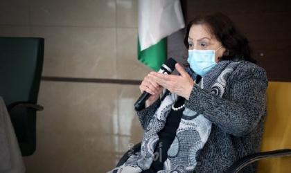الكيلة تستعرض الوضع الوبائي في فلسطين أمام مؤتمر الأكاديميين المهنيين