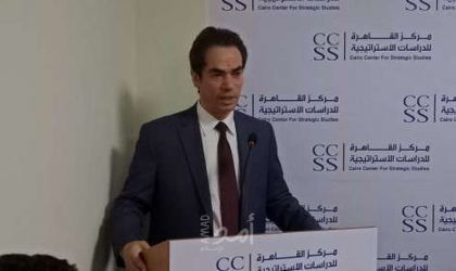 """إحياء الذكرى الـ(80) للراحل """"محمود درويش"""" بمركز القاهرة للدراسات الاستراتيجية"""