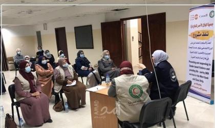 """غزة: """"حماية"""" يعقد لقاء مجتمعي حول الاستخدام الآمن لمواقع التواصل الاجتماعي"""