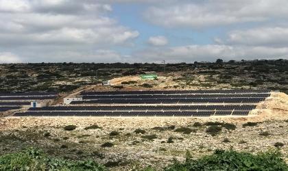 """جنين: """"قُدرة"""" تباشر تشغيل محطة الطاقة الشمسية لصالح """"هيئة كهرباء يعبد""""  بقُدرة 1 ميغاواط"""