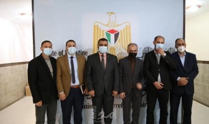 النائب العام بغزة وخارجية حماس يبحثان آليات التشبيك والتعاون مع مؤسسات العدالة