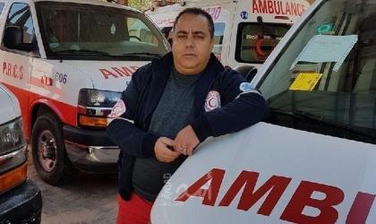 """غزة: وفاة ضابط الإسعاف بالهلال الأحمر """"إياد البسيوني"""" بفايروس """"كورونا"""""""