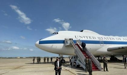 """وزير الدفاع الأمريكي أوستن يصل إسرائيل لبحث """"النووي الإيراني"""" - فيديو"""