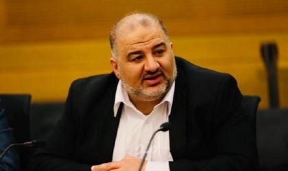 """صحيفة عبرية: منصور عباس يدخل على """"خط التهدئة"""" بين حماس وإسرائيل"""