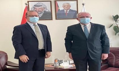 المالكي يناقش مع المدير الإقليمي لليونيسف الاستهداف المتعمد للأطفال من قبل سلطات الاحتلال