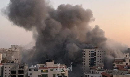 قوى وشخصيات فلسطينية تدين الاستهدافات الإسرائيلية للأبراج السكنية في قطاع غزة