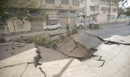 بالفيديو.. شاهد: فلسطينيون يقفون على ركام منازلهم بعد العدوان الإسرائيلي على غزة