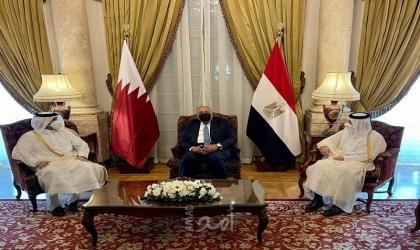 أمير قطر يتسلّم دعوة لزياة مصر من السيسي