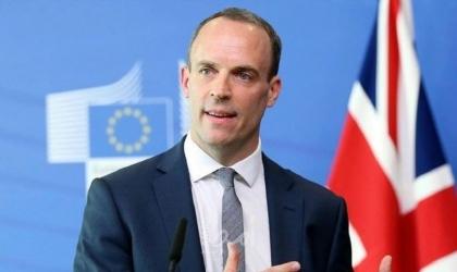 وزير الخارجية البريطاني يدعو إسرائيل والفلسطينيين للعودة إلى حل الدولتين