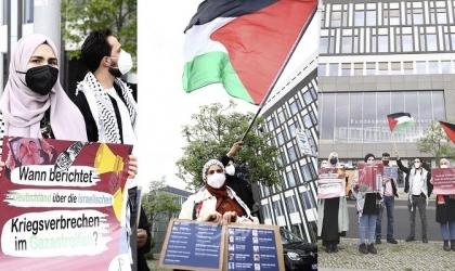لجنة العمل الوطني الفلسطيني تنظم وقفة إسناد للأسرى في سجون الاحتلال في برلين