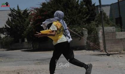 إصابة العشرات بالاختناق خلال قمع جيش الاحتلال لمسيرة كفر قدوم الأسبوعية