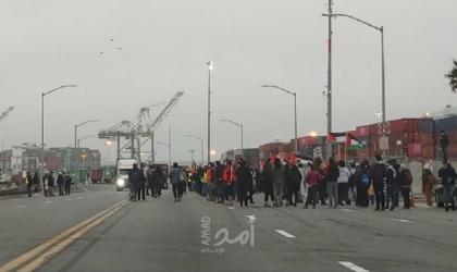 """نقابة العمال بميناء """"أوكلاند"""" في كاليفورنيا ترفض تفريغ سفينة إسرائيليّة"""