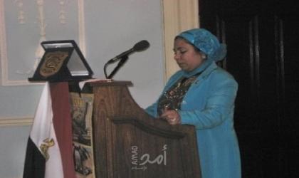 عفاف عبدربه تحصل على وسام الملكة إليزابيث لجهودها في تقوية العلاقات بين مصر وبريطانيا