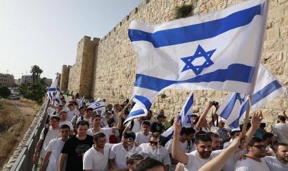توقفت عند حائط البراق.. إسرائيل تعلن انتهاء مسيرة الأعلام  في القدس