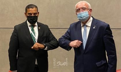 المالكي يتلقي نظيرة الطاجيكي ونائب وزير خارجية جنوب افريقيا
