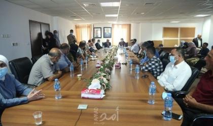 الإحصاء الفلسطيني ووزارة الزراعة يشرعان بتدريب  المشرفين الميدانيين في المحافظات