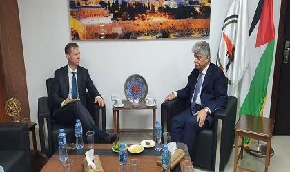 مجدلاني: نتطلع لمبادرة ايرلندية للاعتراف بالدولة الفلسطينية بما يعزز حل الدولتين