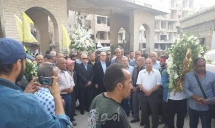 """""""الديمقراطية"""" تزور أضرحة الشهداء في مخيم اليرموك وتستقبل وفد الفصائل مهنئاً بـ""""عيد الأضحى"""""""