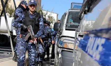 """""""الشرطة"""" توضح سبب القبض على مجموعة من الأشخاص المشاركين بالتجمع وسط رام الله"""