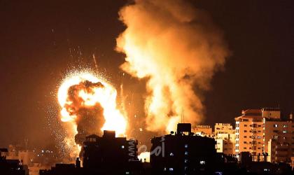طائرات الاحتلال تشن عدة غارات على أهداف في قطاع غزة- فيديو