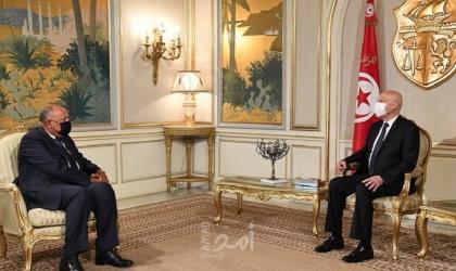 نقلها شكري.. الرئيس التونسي سعيد رسالة من السيسي - فيديو