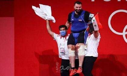 أول ميدالية لسوريا في أولمبياد طوكيو - فيديو