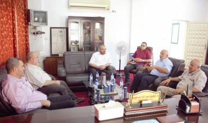 """غزة: وكيل """"النقل والمواصلات"""" يزور جمعية واعد للأسرى والمحررين"""