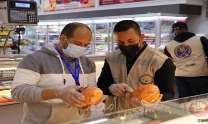 """مباحث التموين تضبط نصف طن من """"اللحوم والمرتديلا"""" الفاسدة"""