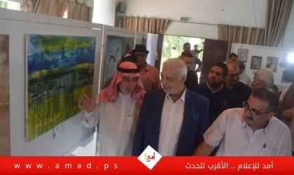 غزة: الفن التشكيلي سلاح لكشف جرائم الاحتلال ضد الفلسطينيين - صور وفيديو