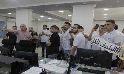 """بلدية غزة بالتعاون مع المنتدى الاجتماعي تنفذ جولة """"كيف شايفها"""""""