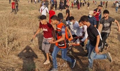 إصابة شاب برصاص قوات الاحتلال جنوب قطاع غزة