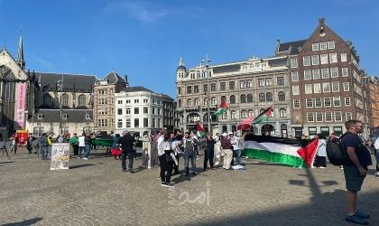 أوروبا: الجالية الفلسطينية تنظم وقفات تضامن مع الأسرى في سجون الاحتلال